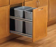 Pull-out recycle bin